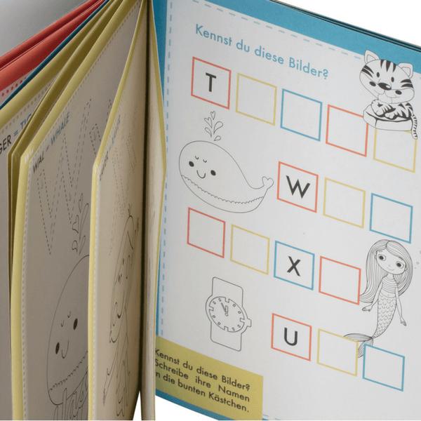 Spielerisch das ABC lernen - Das ABC Malbuch der Tiere | Stay Inspired!
