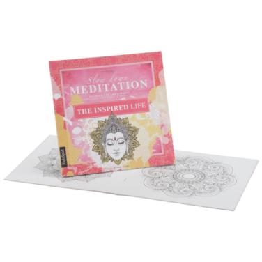"""Malbuch für Erwachsene zum Meditieren und Entspannen """"The Inspired Life"""""""