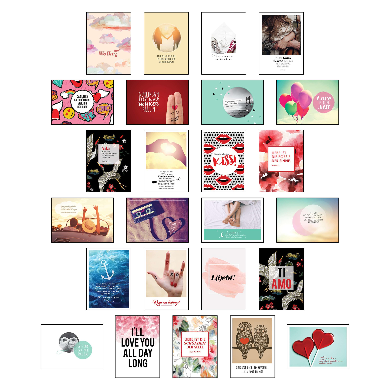 Postkarten Set Hochzeit Wunderschonen Motiven Und Spruchen Stay