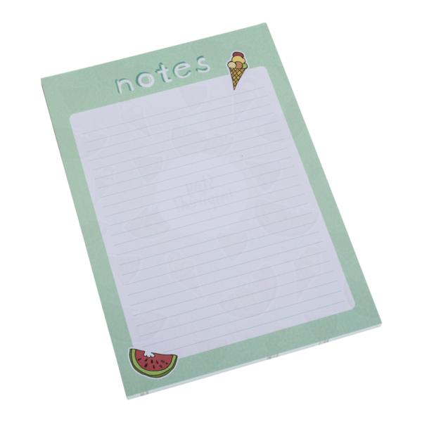wunderschöner grüner Notizblock mit Wassermelonen und Eis von Stay Inspired! by Lisa Wirth