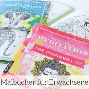Malbücher für Erwachsene zum Entspannen