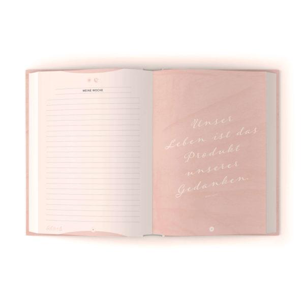 """6 Minuten Tagebuch """"Glück beginnt in dir"""" - Das Tagebuch das glücklich macht"""