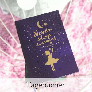 "Traumtagebuch ""Never stop dreaming"""