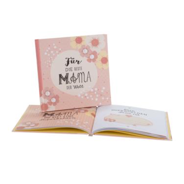 Geschenkbuch für die beste Mama der Welt, zum Geburtstag, Muttertag