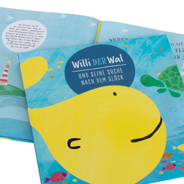 """Kinderbuch """"Willi der Wal und seine Suche nach dem Glück"""""""