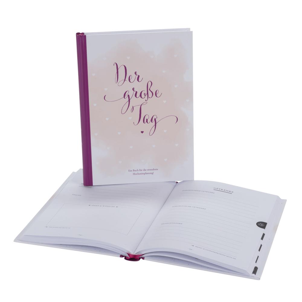 Hochzeitsplaner Der Grosse Tag Umfangreicher Wedding Planner